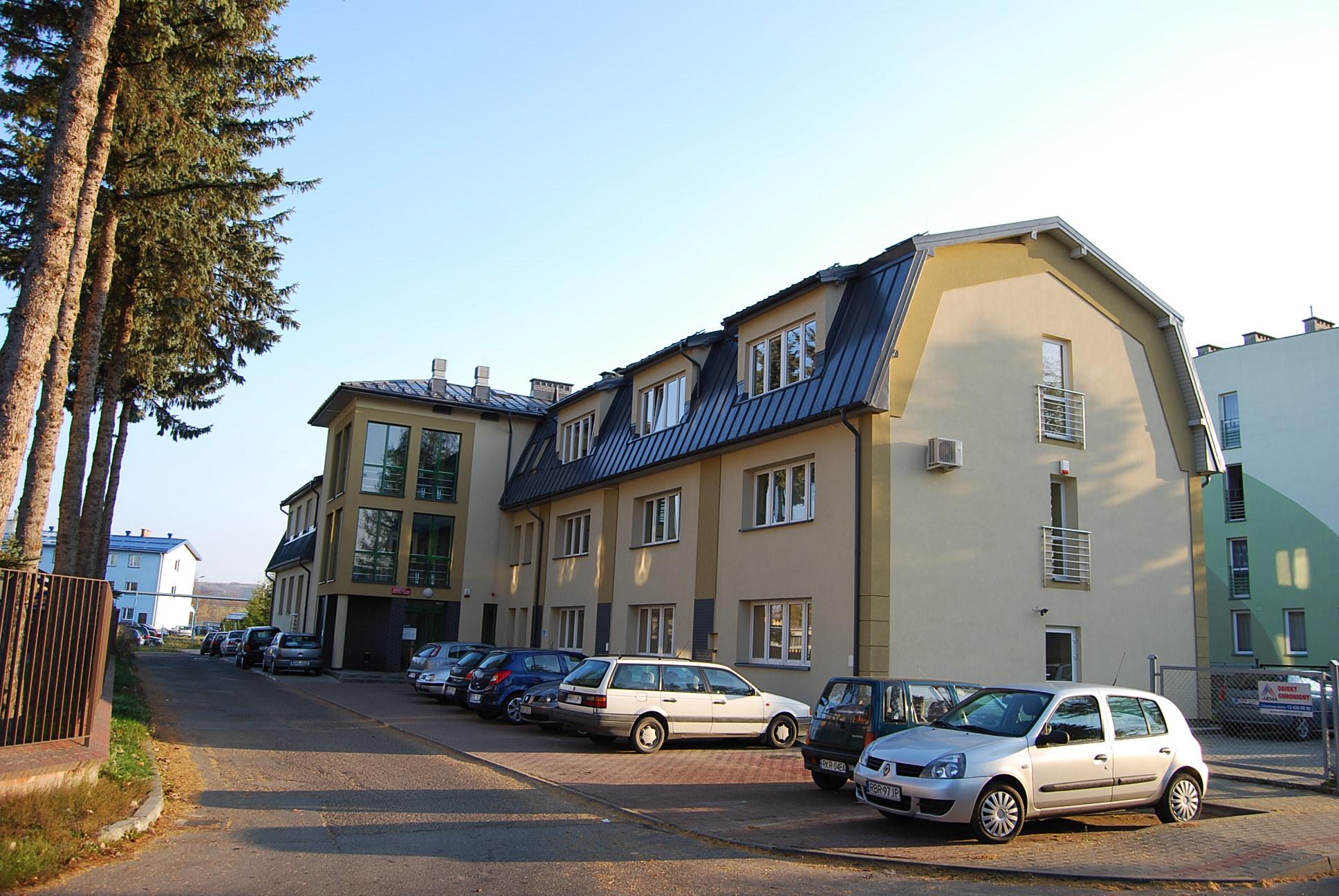 Budynek ZUS w Brzozowie